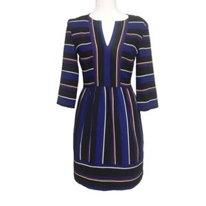 Charles Henry Nordstrom fit and flare stripe dress